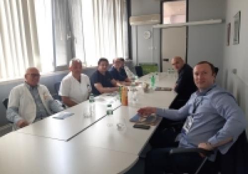 OB Dubrovnik; Posjet izaslanstva Kliničkog centra Crne Gore