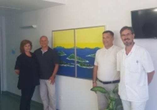 Odjel za palijativnu skrb: Nova donacija umjetničke slike