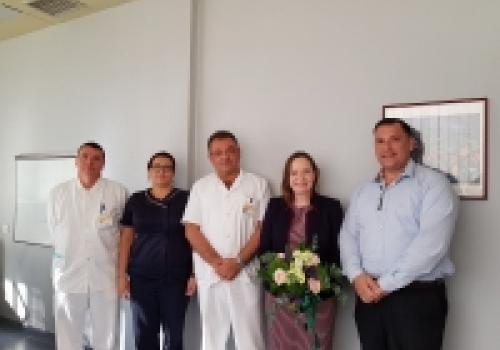 Posjet irske veleposlanice OB Dubrovnik