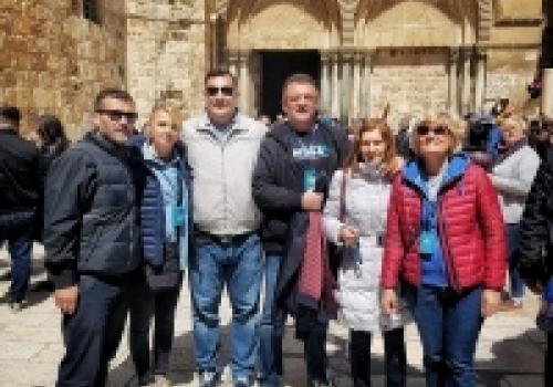 Djelatnici OB Dubrovnik na hodočašću u Svetoj Zemlji