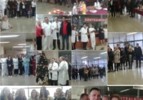 Božična kolenda zbora Libertas i FA