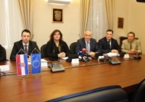 Potpisan ugovor o dodjeli bespovratnih 20 milijuna kuna za projekt…