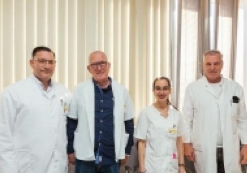 Primarius Ante Melada u timu dubrovačke neurokirurgije