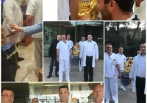 Moćnik sv. Antuna Padovanskog u dubrovačkoj bolnici