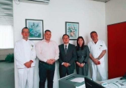Posjet konzula Republike Koreje Općoj bolnici Dubrovnik