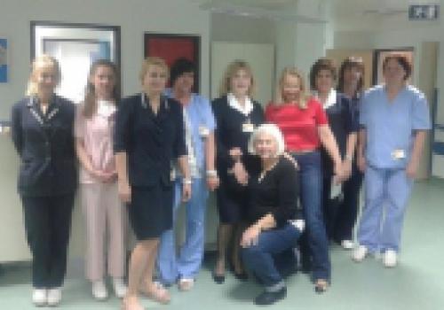 Posjet medicinske sestre iz Sad-a i Lipika Palijativnom odjelu i…